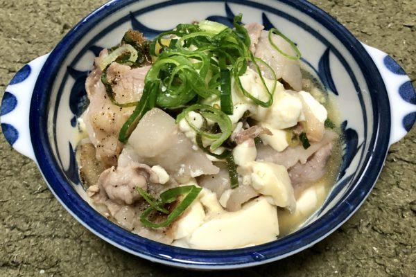 早くて安くてうまくて低糖質【ねぎ塩豚豆腐】料理してみた!